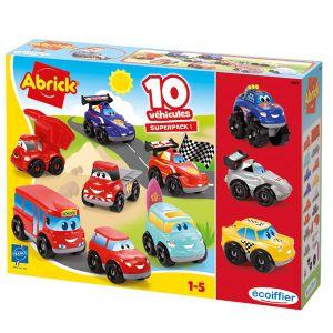 Abrick auto set 10 auto's