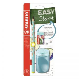 Stabilo easy schoolset blauw links