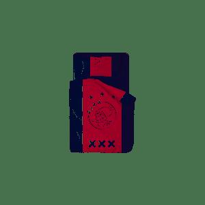 Dekbed Ajax wit/rood/wit