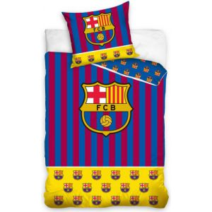 Dekbed FC Barcelona stripes