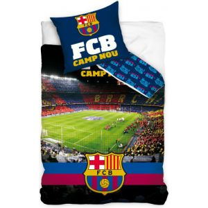 Dekbed FC Barcelona stadion 140x200/70x80 cm