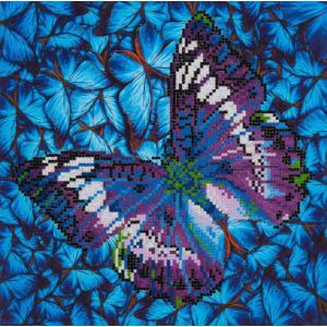 Flutter by Mauve Diamond Dotz: 31x31 cm