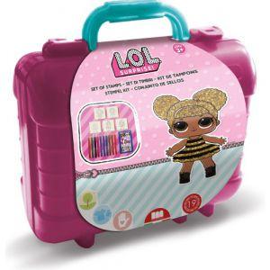 LOL Stempel en kleur koffer