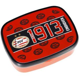 Lunchbox PSV rood zwart