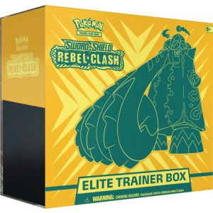 Pokemon Elite Trainer box SS2: Sword en Shield Rebl Clash