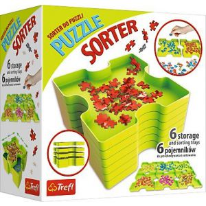 Puzzel Sorteerbox: 6 boxen
