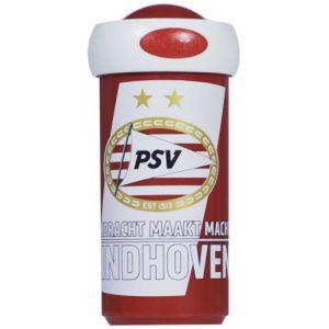 Schoolbeker PSV rood wit