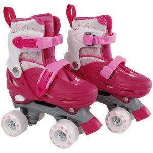 Rolschaatsen Street Rider roze /grijs 31-34