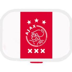 Lunchbox Ajax wit met rode baan Mepal