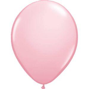 Ballonnen geboorte roze