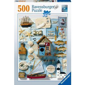 Puzzel 500 stukjes maritiem flair