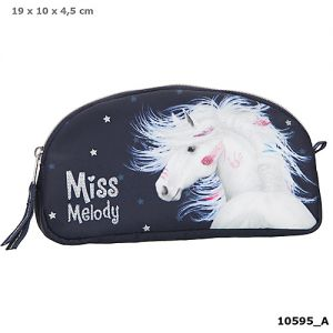 Miss Melody Make Up tasje blauw