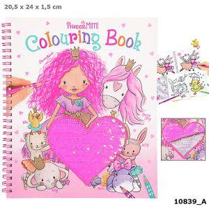 Princess Mimi kleurboek met pailletten