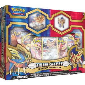 POK TCG True Steel Premium Figure & Pin Collection