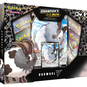 POK TCG Champion's Path Dubwool V Box