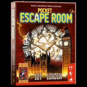 Escape Room pocket: het Lot van London