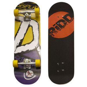 Skateboard Geel Met Paars 70cm