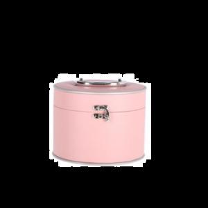 Casuelle Make-Up Koffer Roze Rond