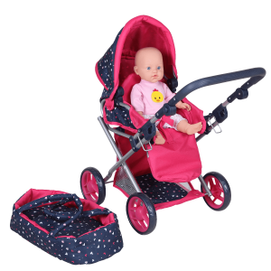 Dolls Room Poppenwagen 3 in 1